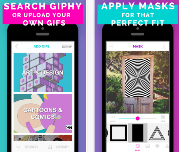 best gif apps for iphone - gifx