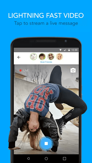 best new chat apps for android and iphone -glide