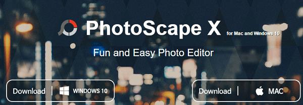 gimp alternative softwares for mac and windows -photoscape