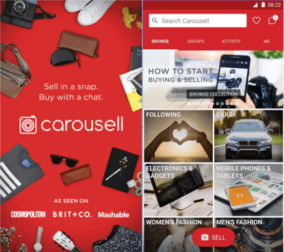 similar apps like letgo -carousell