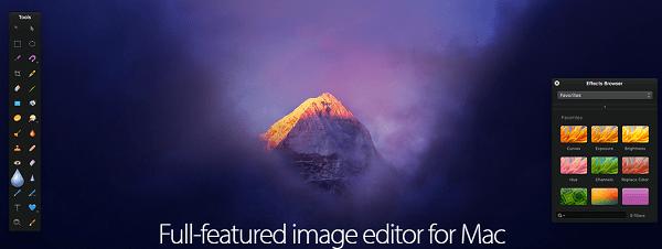 software like gimp to edit photos -pixelmator