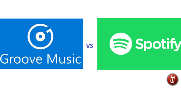 Groove Music vs Spotify