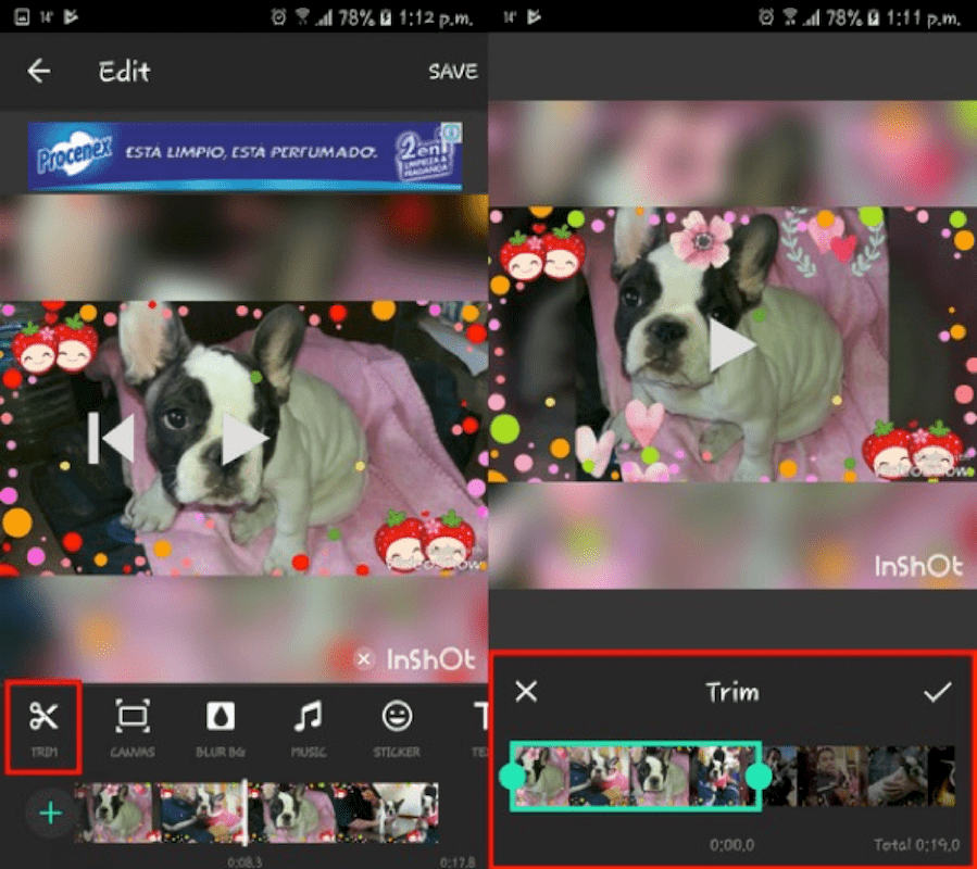 Best Video Cropping apps - InShot Video Editor