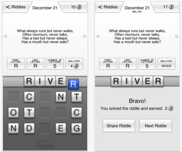 riddles for iphone