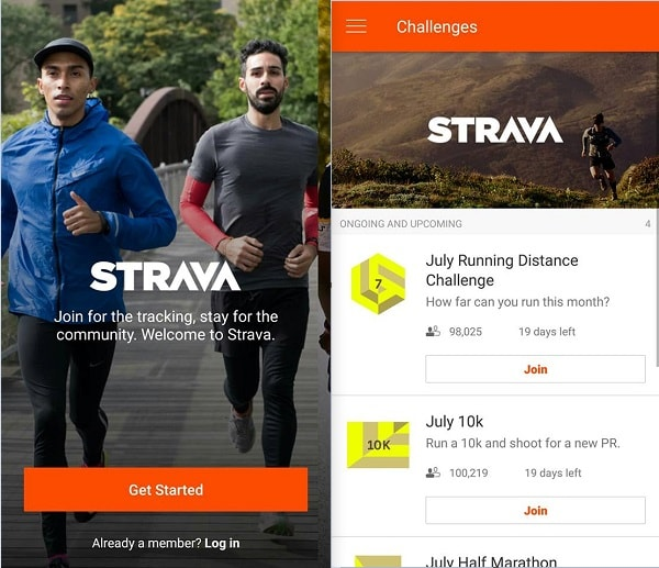 strava and runkeeper comparison