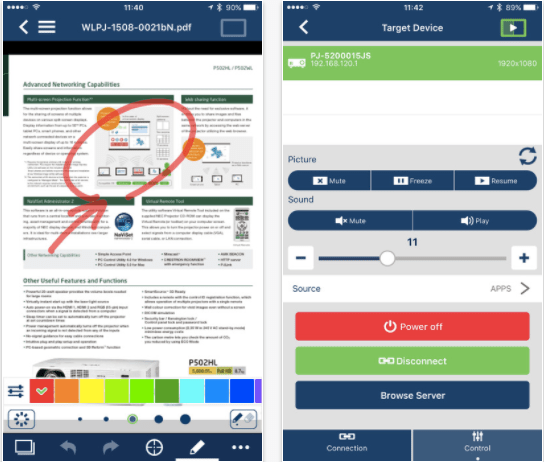 Best Phone Projector apps - MultiPresenter