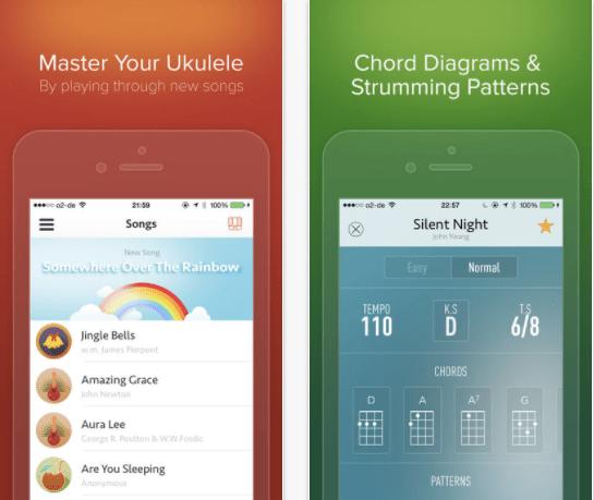 Best Ukulele app for iPhone - iUke