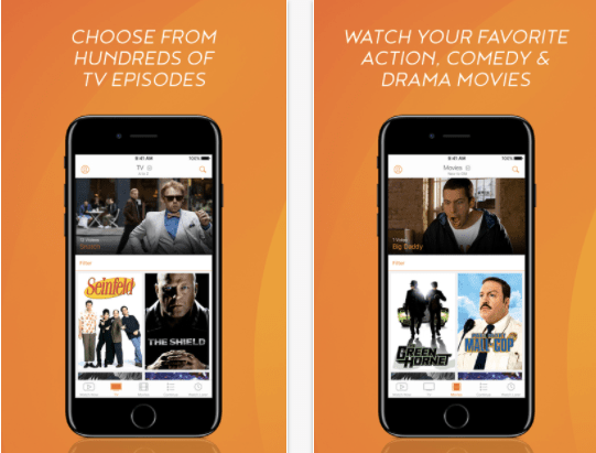 Crackle app to watch movies and TV Shows