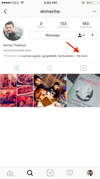 How to See Mutual Friends on Instagram