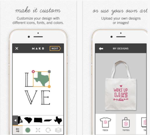 Logo maker app - Makr for iOS