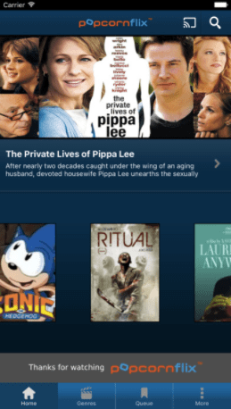 Popcorn flix app