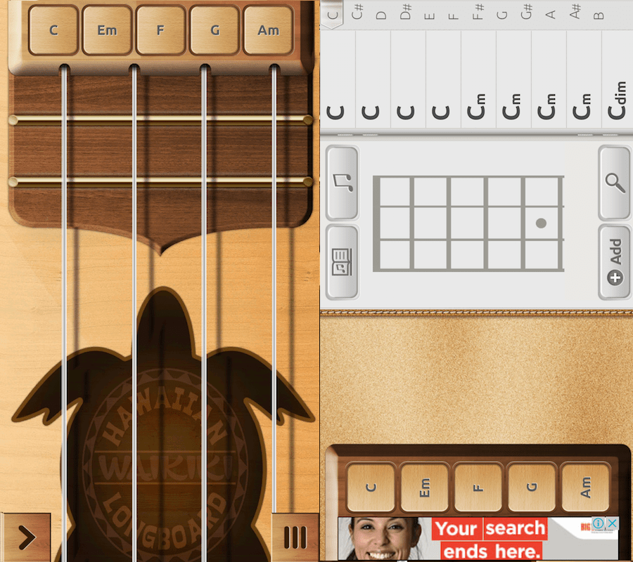 Real Ukulele Free app for Android