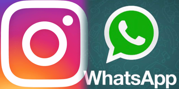 Share Instagram Photos or Videos on WhatsApp Status or with contacts