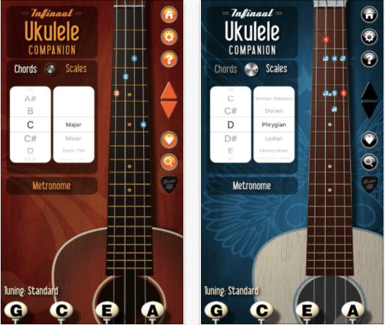 Ukulele Companion iOS App