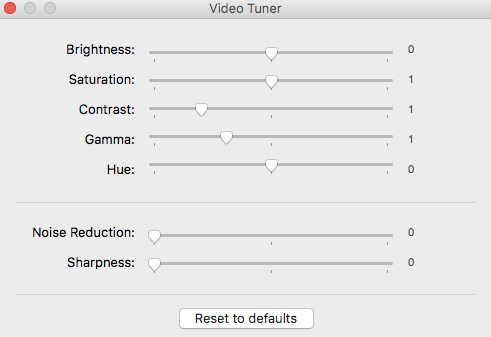 Adjust video brightness contrast - ElMedia Player