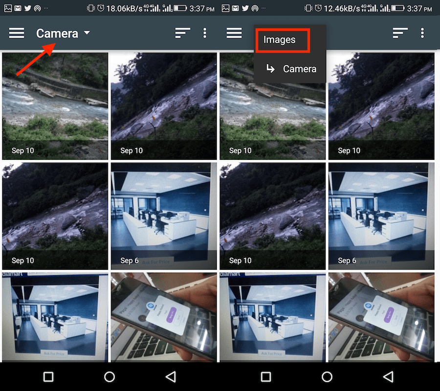 Stop WhatsApp from compressing photos