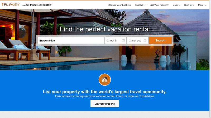 airbnb alternative - Flipkey