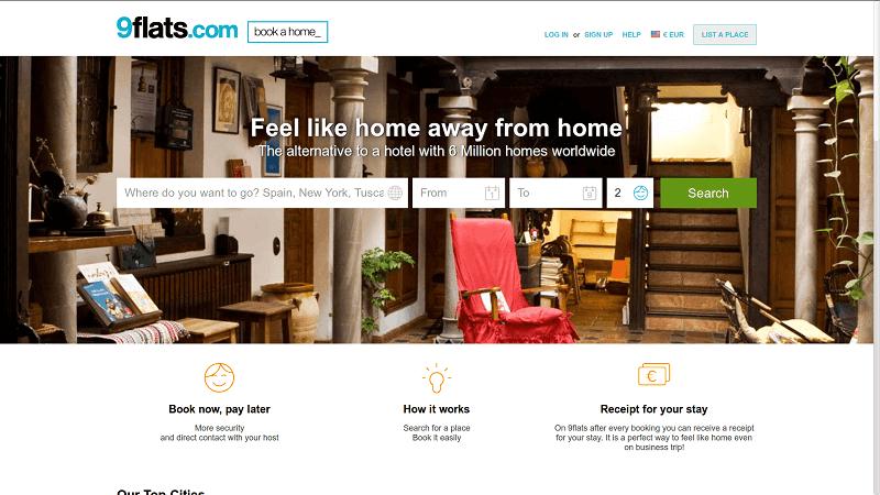 airbnb alternatives - 9flats