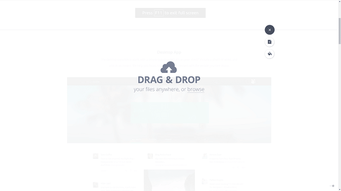 drag and drop functionality