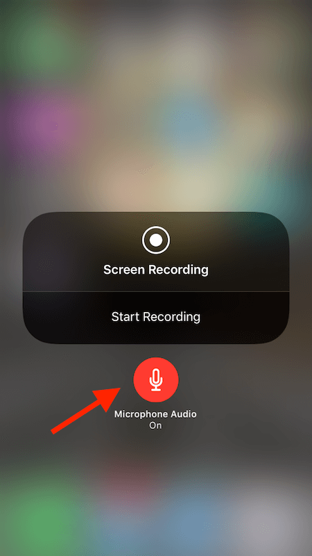 Record iPhone screen with audio