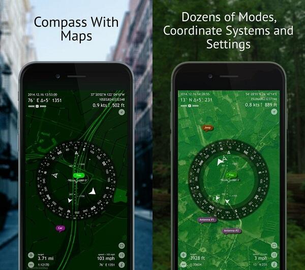 COMMANDER COMPASS LITE iOS