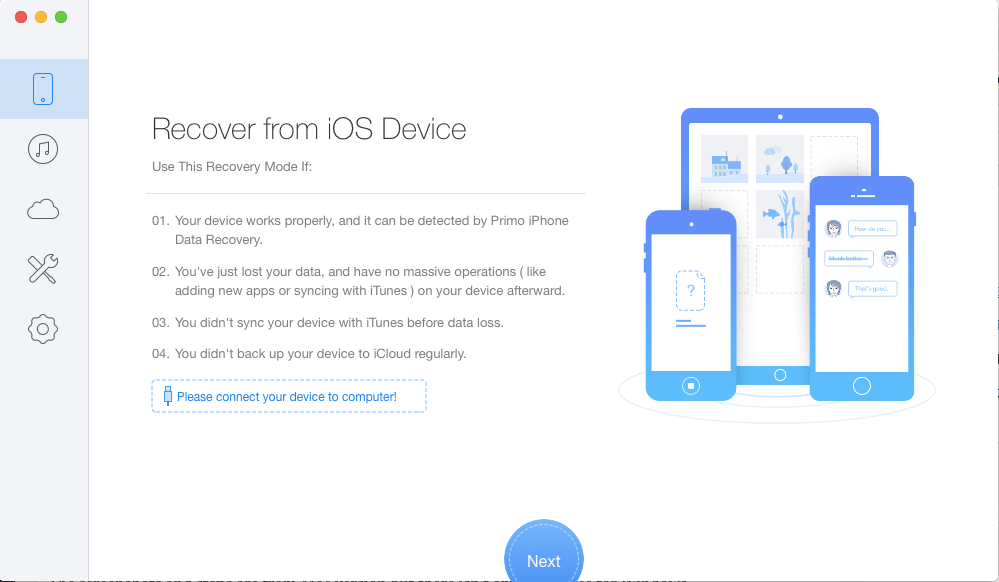 Primo iPhone Data Recovery Review