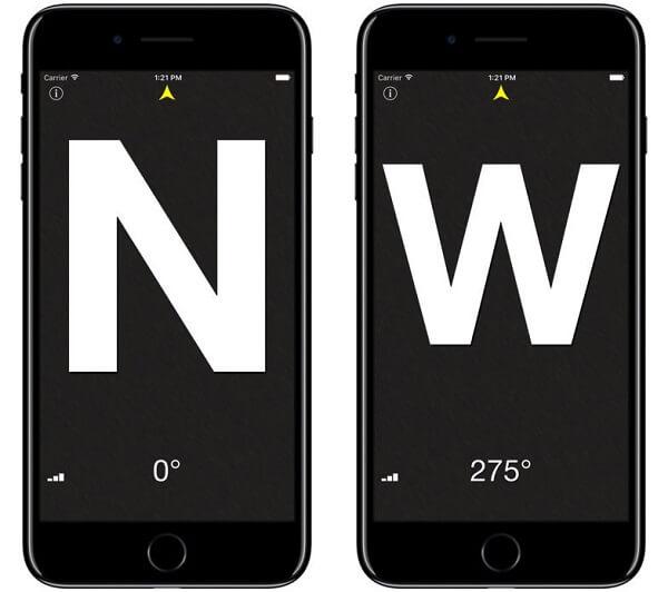 compass degree iOS