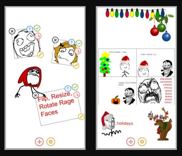 rage comic maker iOS app