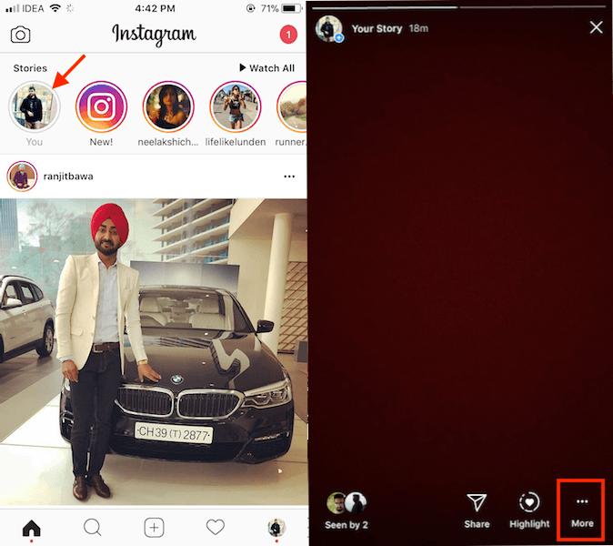 How to Delete Instagram Story