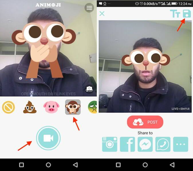 Get Animojis on Any Android device