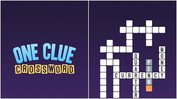 ONE CLUE CROSSWORD