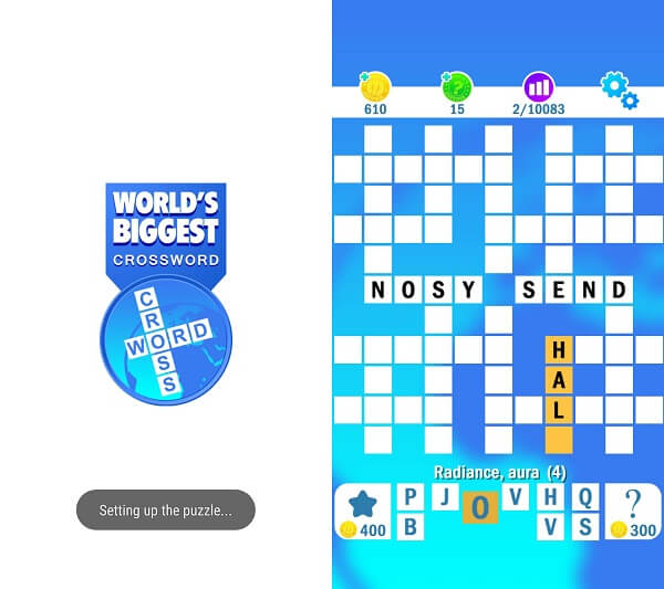 WORLD'S BIGGEST CROSSWORD