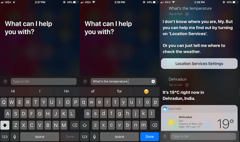 How to use Type to Siri on iPhone