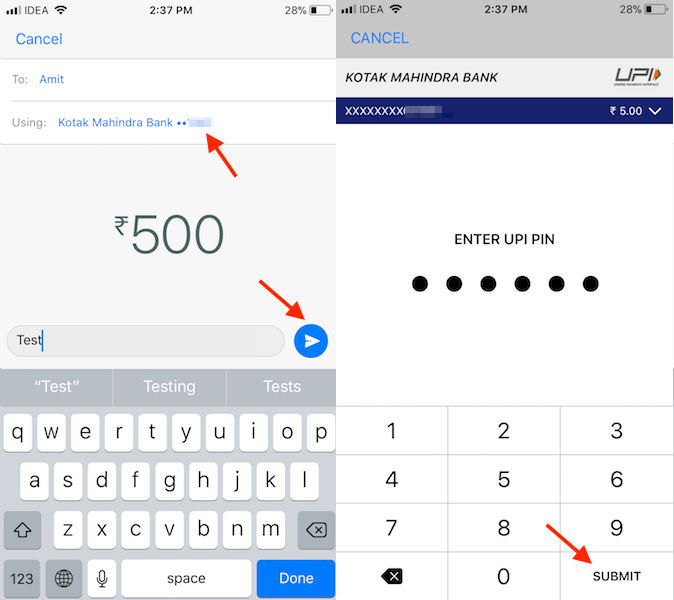 Send Money on WhatsApp Using Payments feature