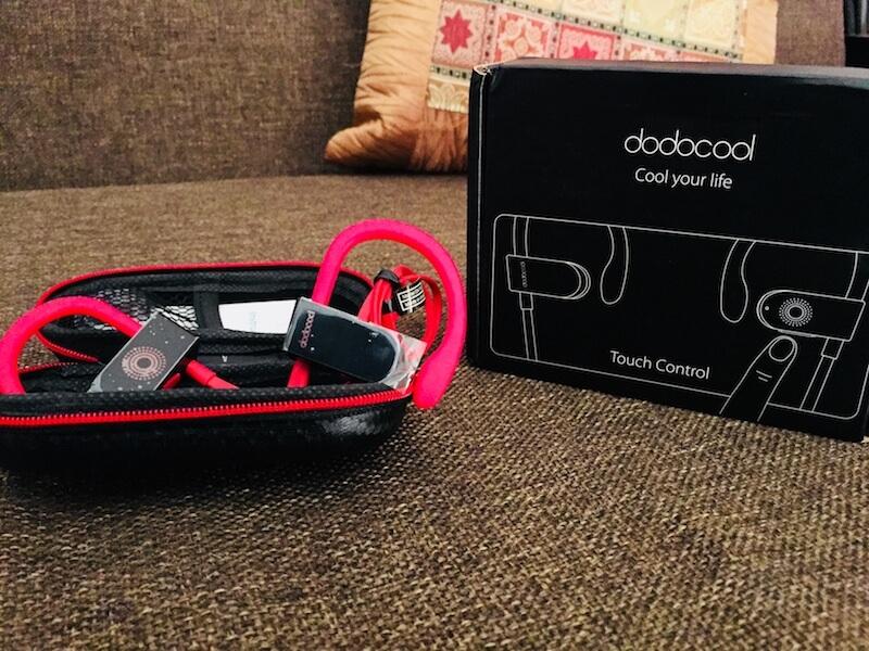 dodocool Touch sensitive earphone review