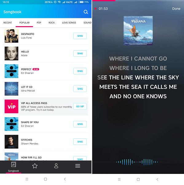 Best Karaoke app - Karaoke Sing & Record by Yokee