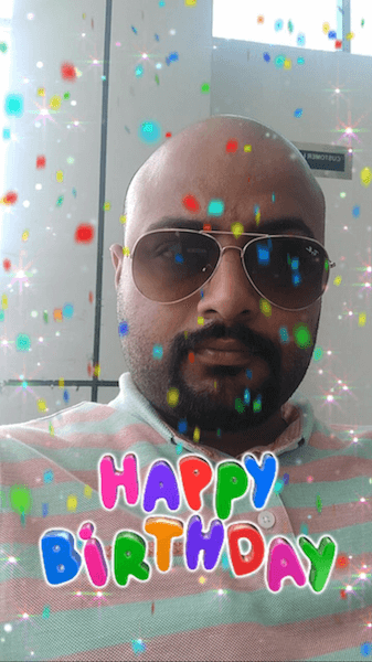 Enable Birthday Party on Snapchat