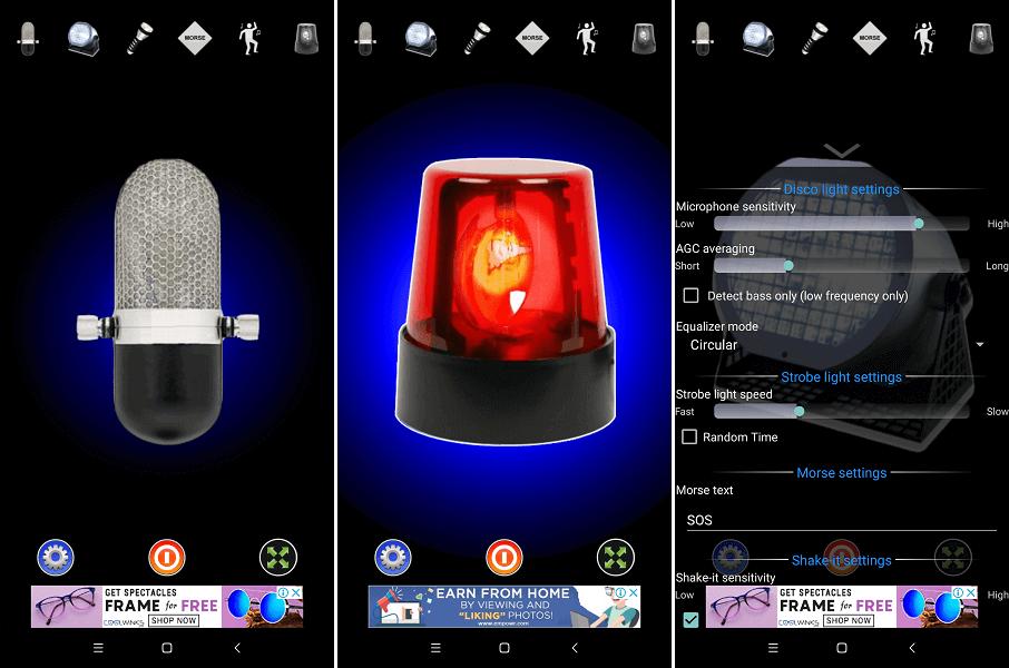 Flashlight app - Disco Light™ LED Flashlight