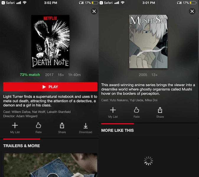 Netflix app to watch Anime on Android and iOS