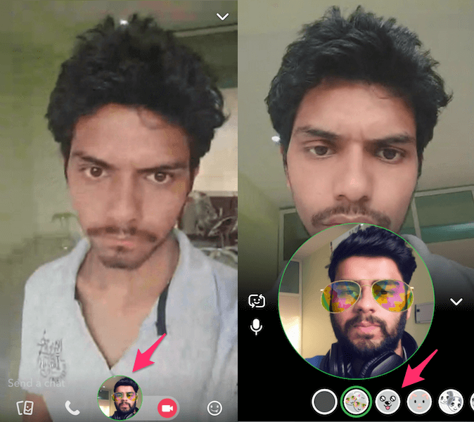 Video Call On Snapchat