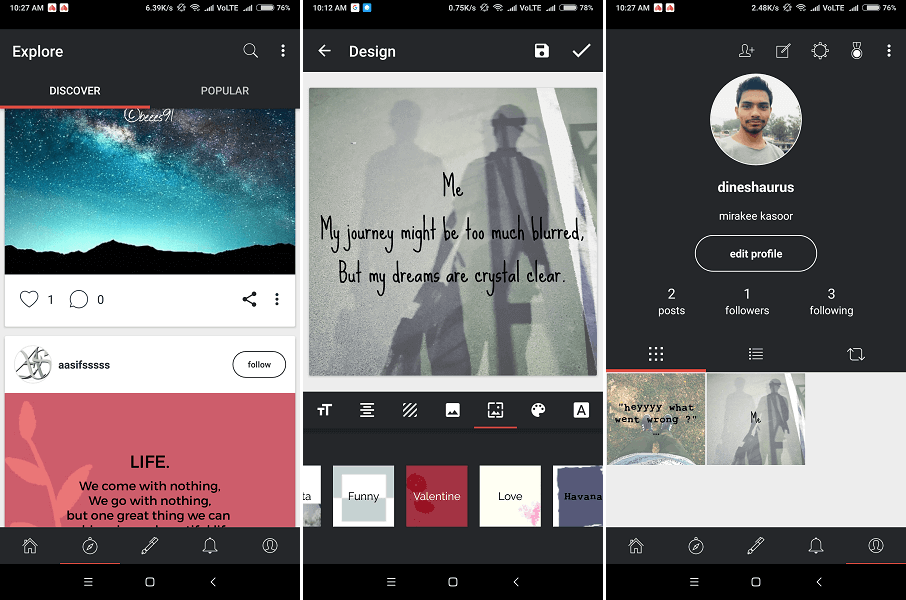 App for new writers - Mirakee Writing Community