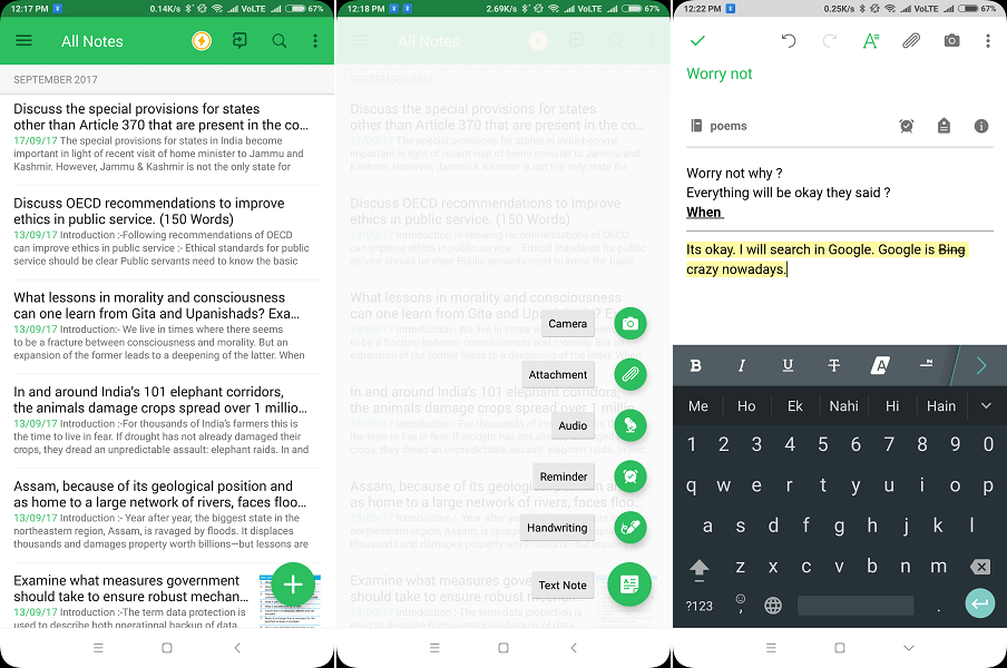 App for writing a book - Evernote - stay organized