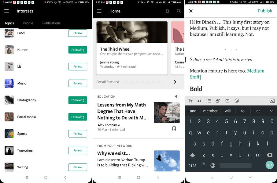 Best Apps for writers - Medium