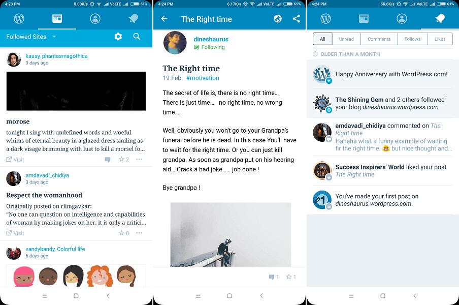 Best app for aspiring writers - WordPress