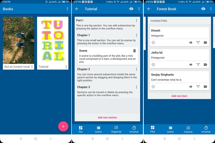 Best app for novel writing - Novelist