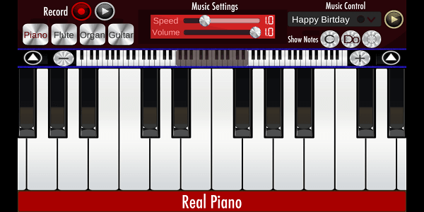 Best piano app 2018 - Real Piano (5)