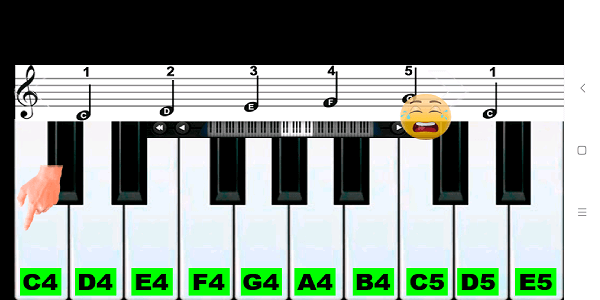 Best piano learning app - Real Piano Teacher (7b)