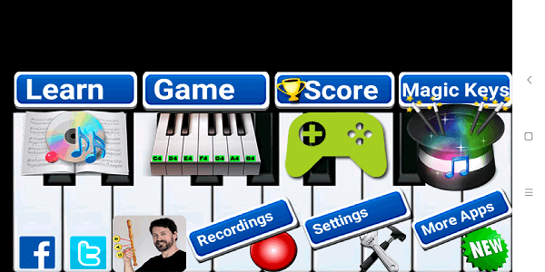 Best piano teaching app - Real Piano Teacher (7a)