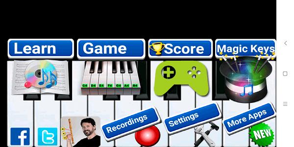 Best piano teaching app - Real Piano Teacher (7a)