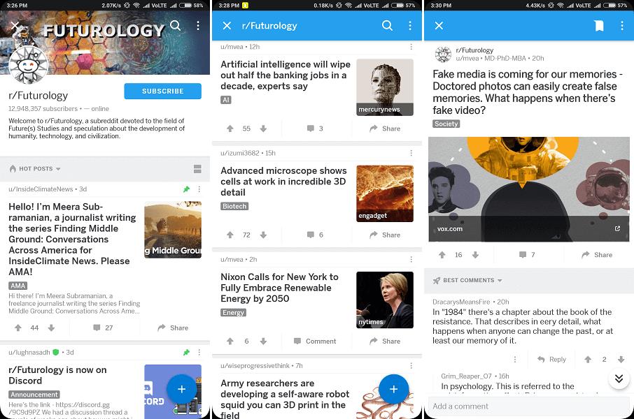 Best subreddit for technology- futurology